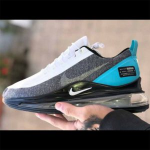 Nike Air Max 720 Sports Shoes For Men By Shoe Point (Grey-White)