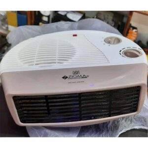 Zigma Heat Blower (Room Heater) By Vishna Electronic Asnawar (Off White)