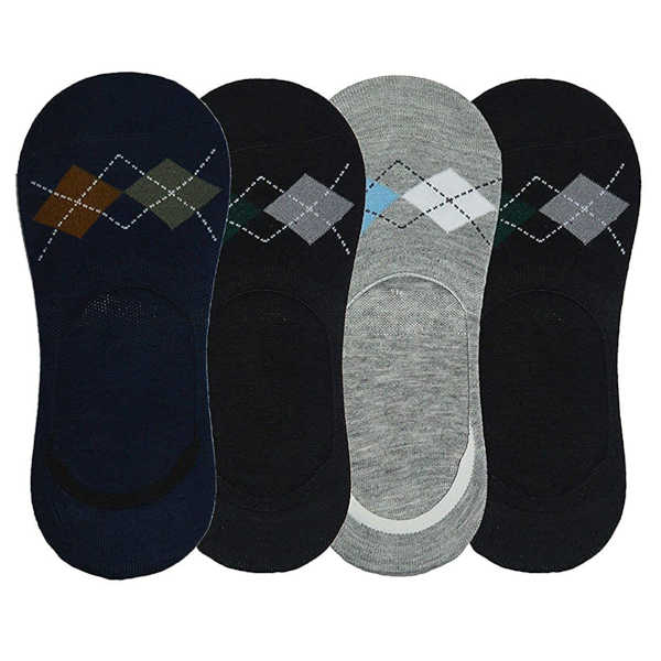 Fragranced Loafer Socks With Anti-Slip Silicone Pack of 5 Pairs By Bagrecha Creations(Multicolor9)