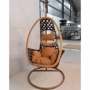 Swing Chair With Stand By Ekta Furniture House (Brown)