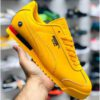 Branded Sports Shoes For Men By Debjani Collection (Yellow)