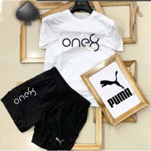 Branded T-Shirt & Short Combo For Men By AK Fashion
