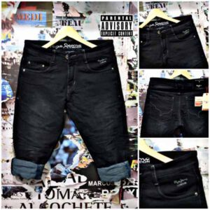 New Knitted Cotton Narrow Bottom Jeans For Men By A.K. Fashion (1)
