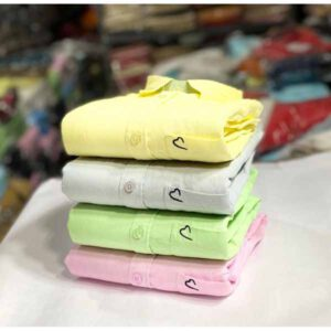 Branded Combo Shirt For Men By Samu Collection (Cream,Off White, Light Green, Pink)