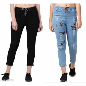 Combo Partywear Jeans For Women By Samu Collection