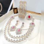 New American Diamond Jwellery Set For Women By KD Creation (13)
