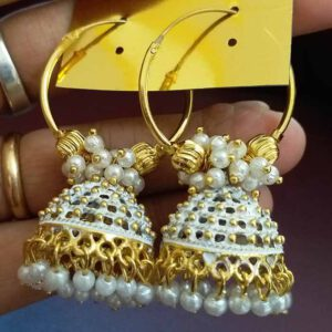 Artificial Jhumki Style Earrings By Archi Creation