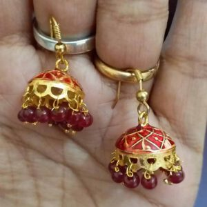 Jhumki Style Earrings By Archi Creation