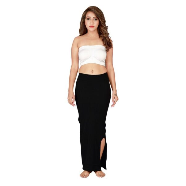 Microfiber Seamless Saree Shapewear For Women By Connected (Black)