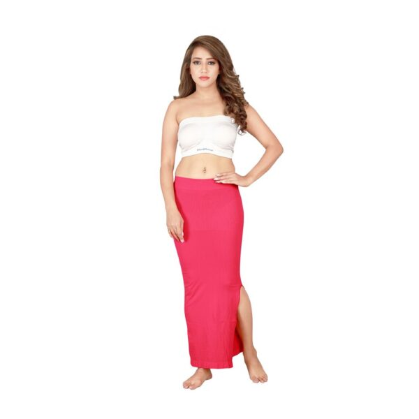 Microfiber Seamless Saree Shapewear For Women By Connected (Pink)