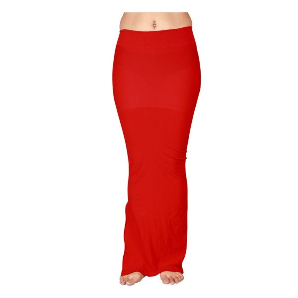 Microfiber Seamless Saree Shapewear For Women By Connected (Red)